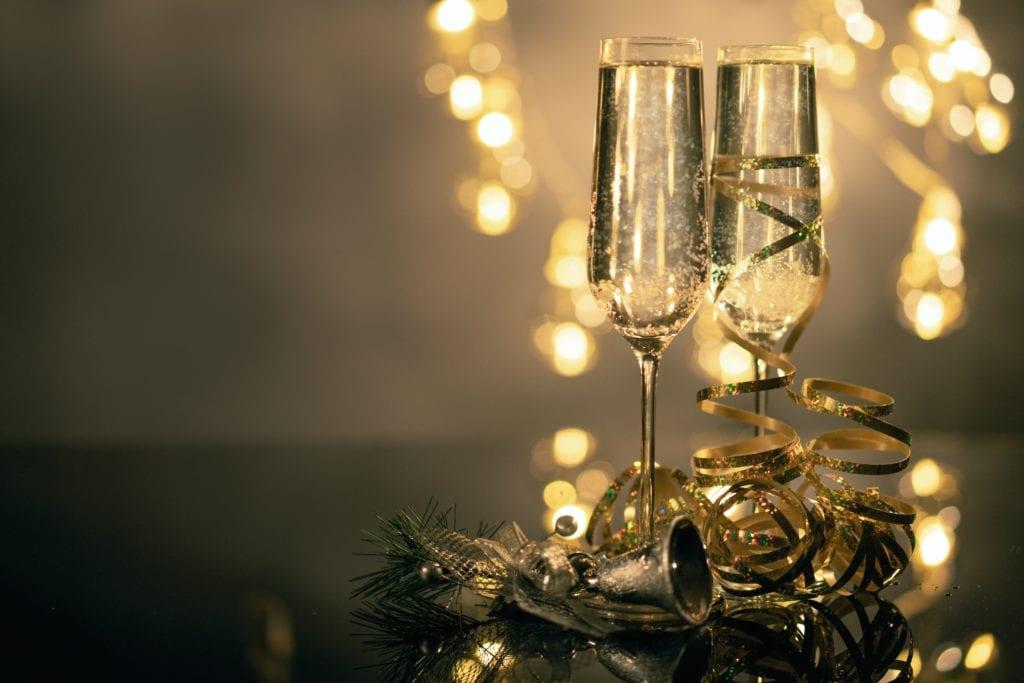 Xmas champagne