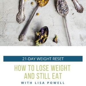 21-day online weight reset cover page
