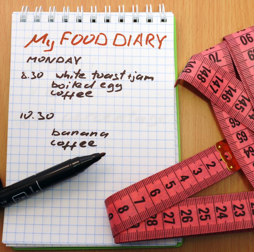 My food diary image